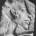 Pharaoh Akhenaten of Ancient Egypt (ruled 1501-1474 BC)