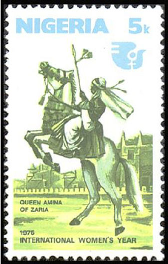 Queen Amina of Hausaland (ruled 1576-1610 AD)