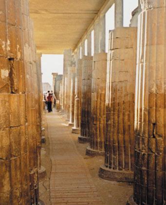 Egypt – Inside the Funerary Complex of Saqqara