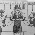 Pharaoh Natakamani and Queen Amanitore – Sudanese husband and wife team. The last of the great pharaonic builders