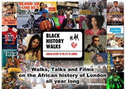 Black history walks in London